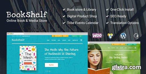 ThemeForest - Bookshelf v1.9.1 - Books & Media Online Store WordPress Theme - 11426523