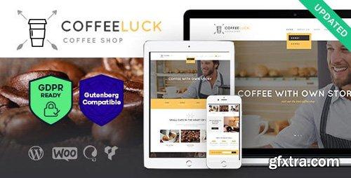 ThemeForest - Coffee Luck v1.3 - Coffee Shop / Cafe / Restaurant WordPress Theme - 18010229