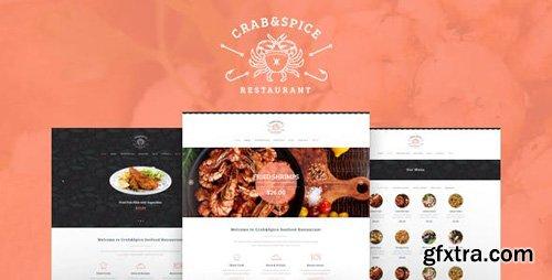 ThemeForest - Crab & Spice v1.3.1 - Restaurant and Cafe WordPress Theme - 16362708