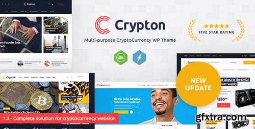 ThemeForest - Crypton v1.6 - A Multi-Purpose Cryptocurrency WordPress Theme - 21083744