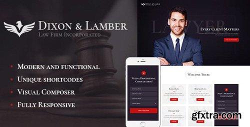 ThemeForest - Dixon & Lamber v1.1 - Law Firm WordPress Theme - 19423527