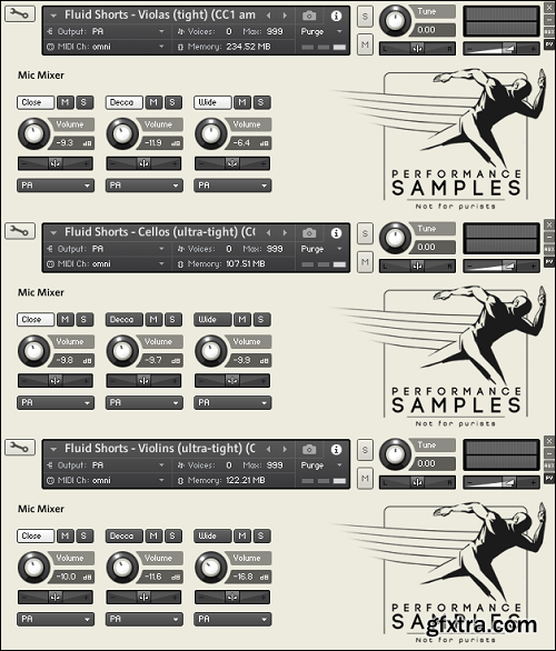 Performance Samples Fluid Shorts v1.1 KONTAKT-AwZ