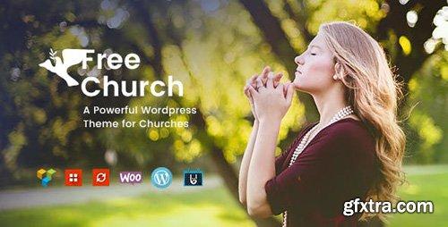 ThemeForest - Free Church v1.2 - Religion & Charity WordPress Theme - 19757200