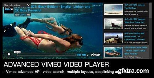 CodeCanyon - Advanced Vimeo Video Player v1.35 - 7868738