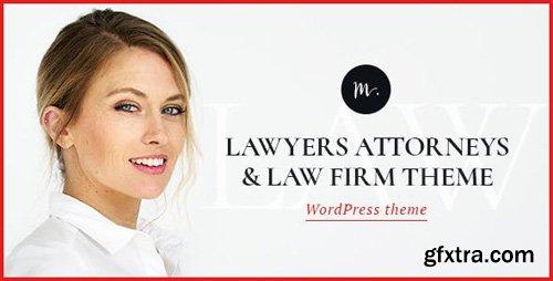 ThemeForest - M.Williamson v1.2 - Lawyer & Legal Adviser WordPress Theme - 20358946