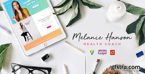 ThemeForest - Melanie Hanson v1.3 - Health Coach Blog & Lifestyle Magazine WordPress Theme - 19070706