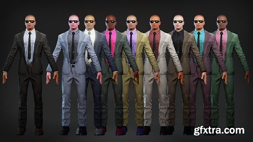 Agents Characters Pack Unreal Engine