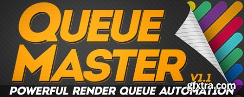Aescripts QueueMaster 1.12 for After Effects