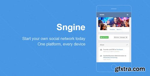 CodeCanyon - Sngine v2.5.8 - The Ultimate PHP Social Network Platform - 13526001 - NULLED