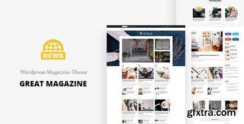 ThemeForest - Great Magazine v1.0 - Magazine Psd Template - 16195109