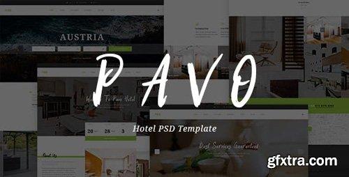 ThemeForest - Pavo v1.0 - Hotel PSD Template - 15887796