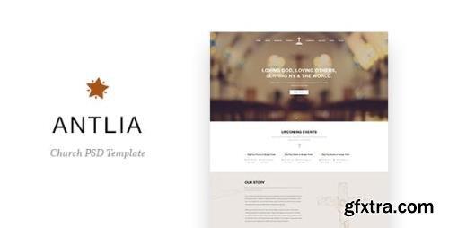 ThemeForest - Antlia v1.0 - Church PSD Template - 16075622