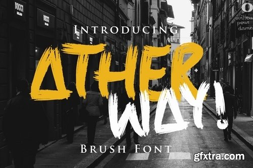 Ather Way Font
