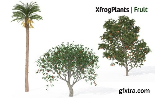 XfrogPlants - Fruit Trees