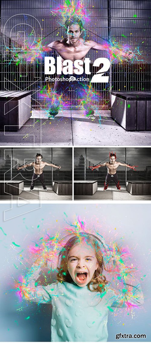 GraphicRiver - Blast Photoshop Action 2 23510806