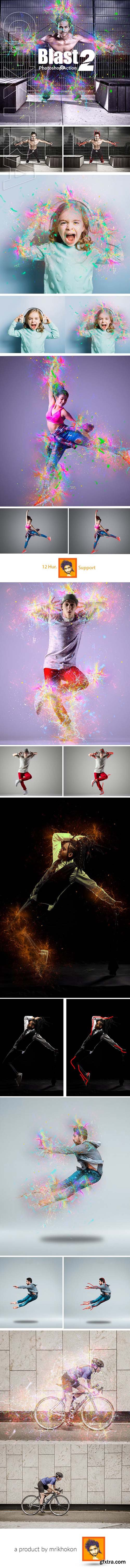 GraphicRiver - Blast Photoshop Action 2 23510806
