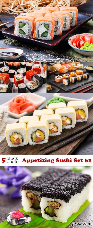 Photos - Appetizing Sushi Set 62