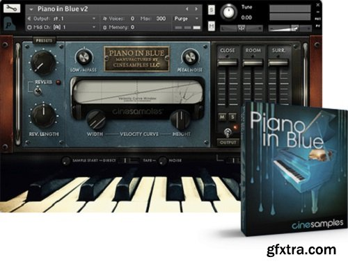 Cinesamples Piano in Blue v2.3b KONTAKT-AwZ