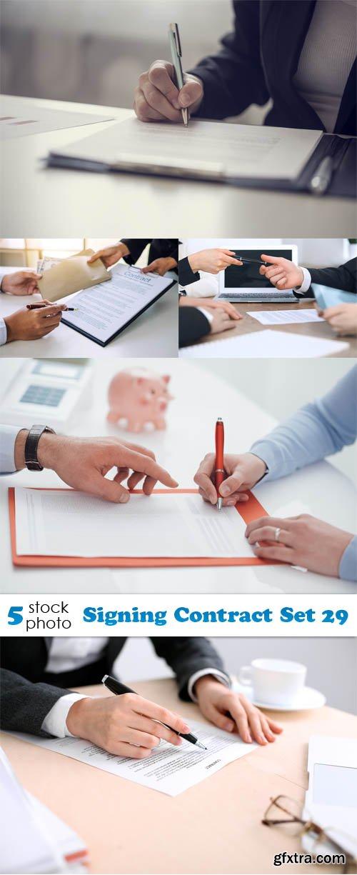 Photos - Signing Contract Set 29