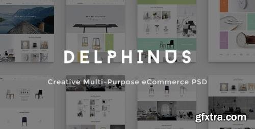 ThemeForest - Delphinus v1.0 - Creative eCommerce PSD template - 12494466