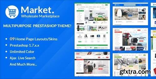 ThemeForest - Themes Market Responsive Prestashop 1.7 (Update: 21 January 19) - 22999272