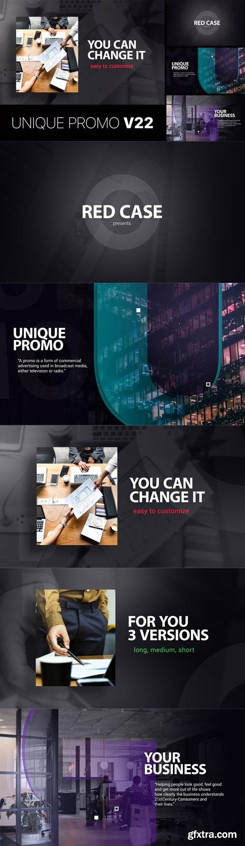 Videohive - Unique Promo v22 - 22621109