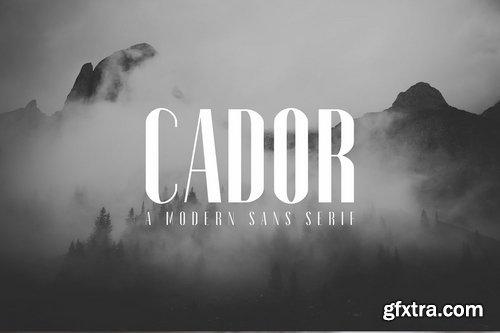 CM - Cador Sans Serif Font Family Pack 3699817