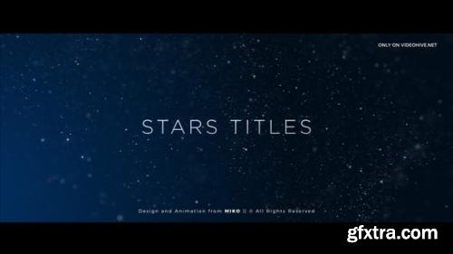 Videohive Stars Titles 22785607
