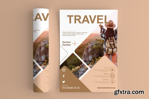 Travel And Vacation Flyers