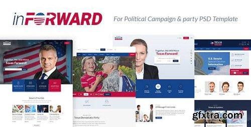 ThemeForest - inForward v1.0 - Political Campaign, Party, Nonprofit PSD Template - 21151475