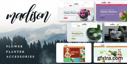 ThemeForest - Madison v1.1 - Flowers, Plant, Beauty, Gardening tools, Food store, Nursery Shopify Theme - 23099859