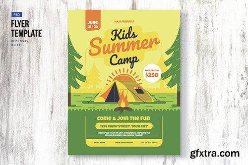 Kids Camp Flyer Template