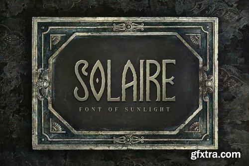 CM - Solaire Typeface 3441014