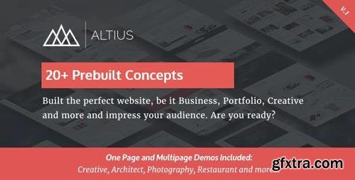 ThemeForest - Altius v1.1 - Multi-Purpose WordPress Theme with Visual Composer - 16387634