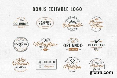 CM - Troyline - Font Duo (+Logotype) 3596051