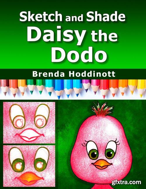 Sketch and Shade Daisy the Dodo