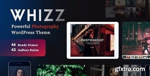 ThemeForest - Photography Whizz v2.0.1 - Photography WordPress for Photography - 20234560