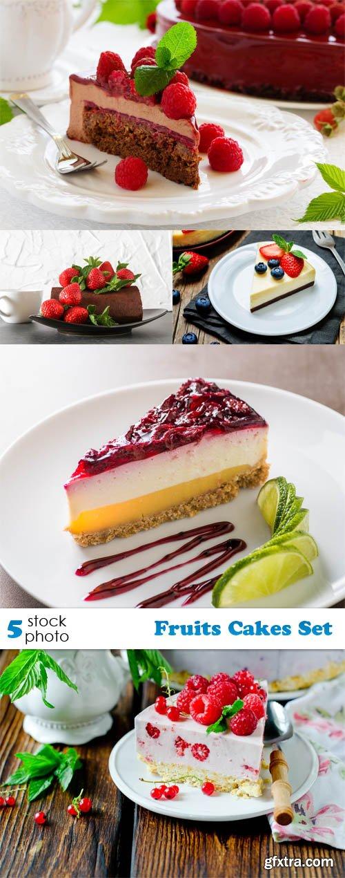 Photos - Fruits Cakes Set