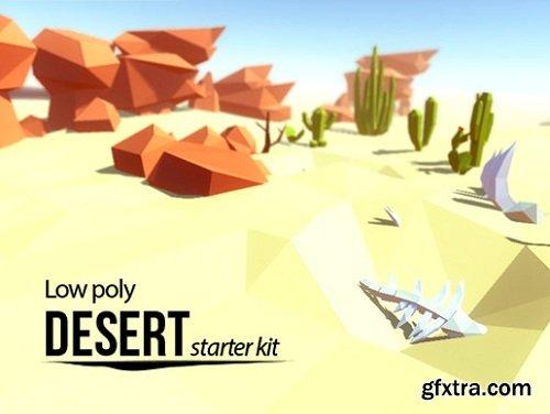 Lowpoly Desert - Starter Kit Unity Asset