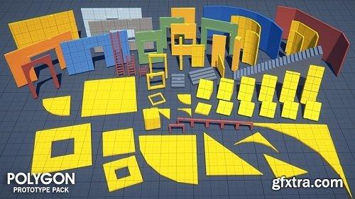 POLYGON - Prototype Pack Unity asset