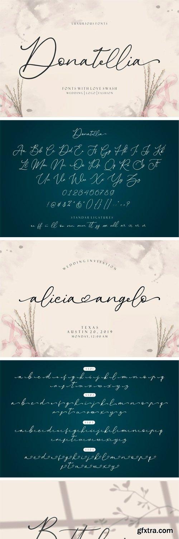 CM - Donatellia - Signature Fonts 3703094