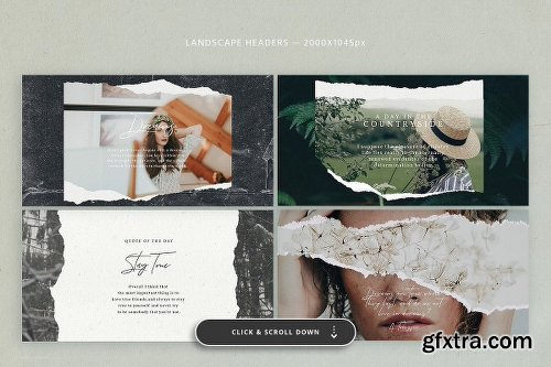 CreativeMarket Social Kit BUNDLE 3601091