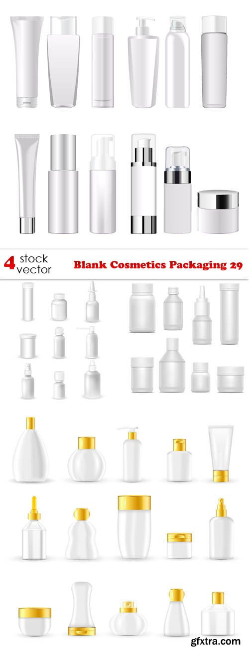 Vectors - Blank Cosmetics Packaging 29