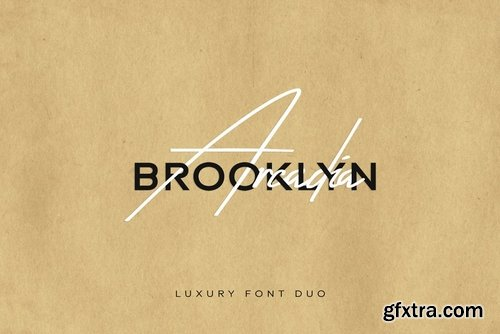 CM - Arcadia & Brooklyn - Luxury Font Duo 3704702