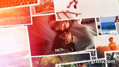 Videohive Memories Collage 23455590