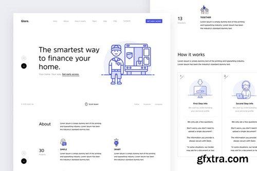 Glare - Multi-purpose One-Page Website