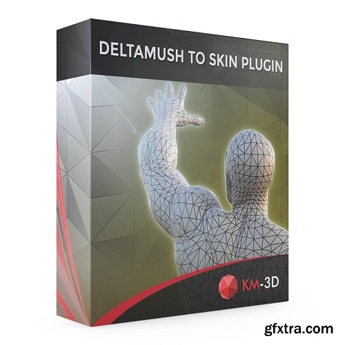DeltaMushToSkin v1.0 for 3ds Max 2013 - 2020