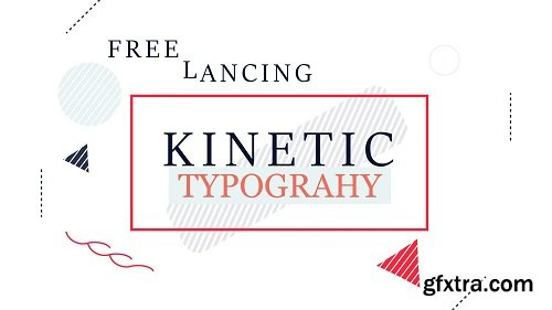 Learn Kinetic typography and freelancing with Adobe After Effects