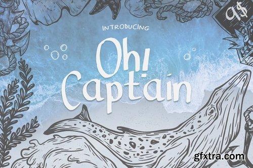 CM - Oh Captain Font 2206621