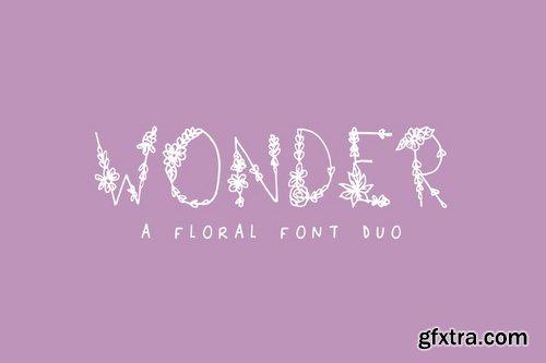 CM - Wonder Floral Font 2241035